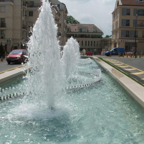 Fontaine à Maisons-Laffitte