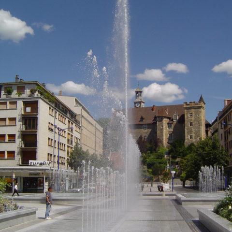 Fontaine à Montluçon