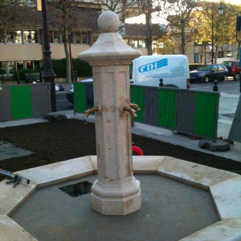 Fontaine à Puteaux