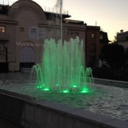 maintenance éclairages fontaine